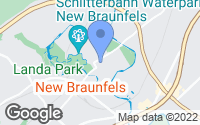 Map of New Braunfels, TX