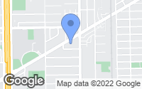 Map of Bellaire, TX