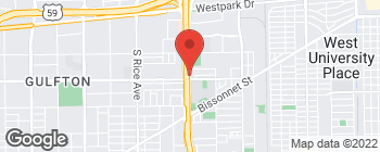 Map of 5959 West Loop S in Bellaire