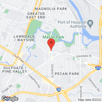 Map of Check `n Go Lawndale Road at 7071 Lawndale Road, Houston, TX 77023