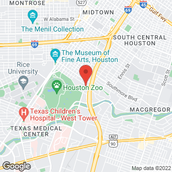 Map of Gerardo Bueso, MD at 5711 Almeda Road, Houston, TX 77004
