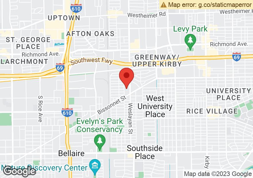 Google Map of 5560 WESLAYAN ST
