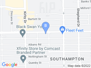 Map of Pampered Pet Inn Dog Boarding options in Houston | Boarding