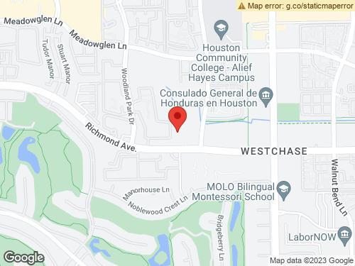 View Map of the design studio in Houston, TX