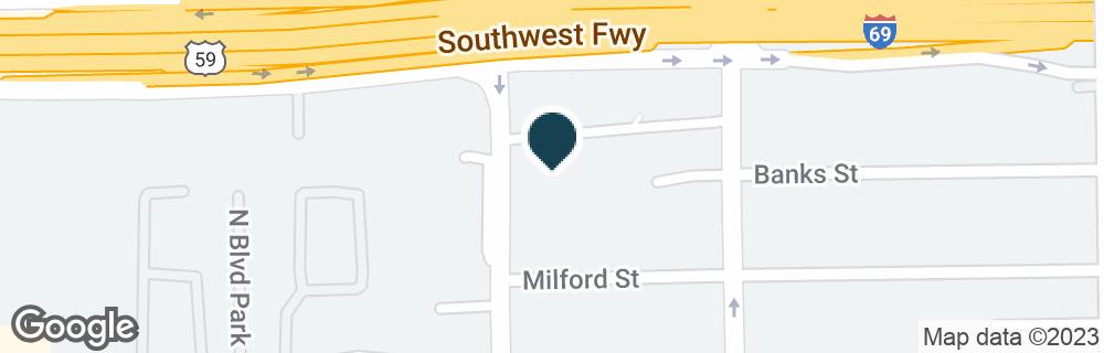 Google Map of4101 GREENBRIAR ST