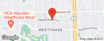 Map of 2901 Wilcrest Dr in Houston