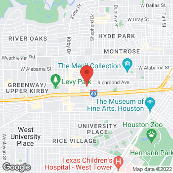 Map of Tuesday Morning at 2183 Portsmouth Street, Houston, TX 77098