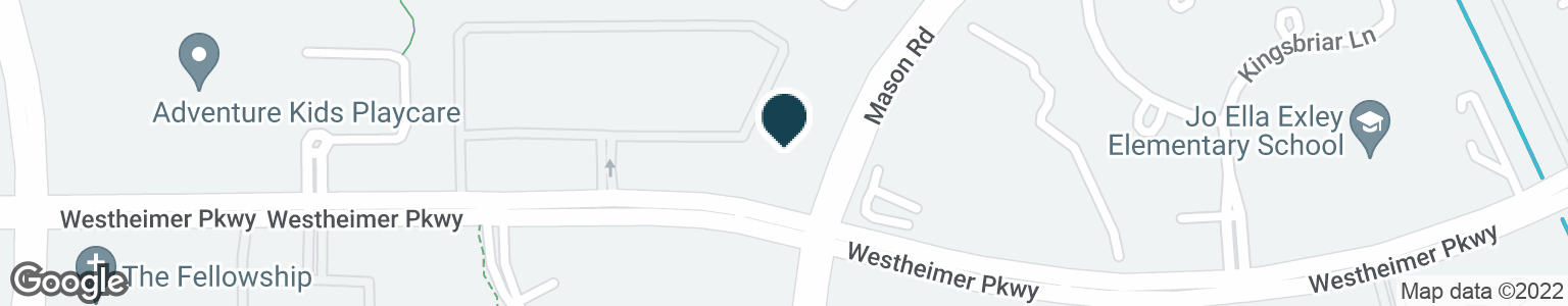 Google Map of22202 WESTHEIMER PKWY