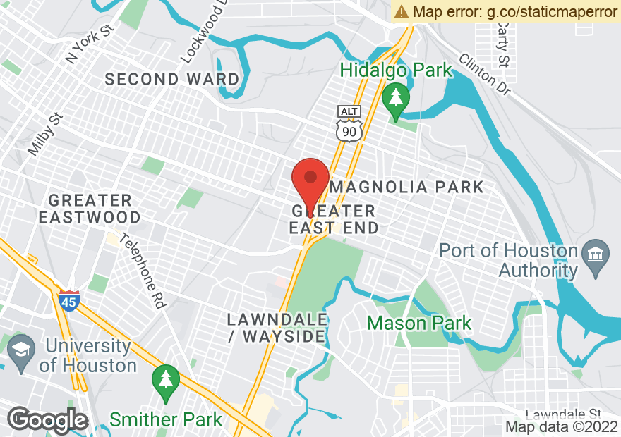 Google Map of 220 S WAYSIDE DR