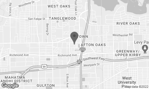 Map of 5137 West Alabama in Houston