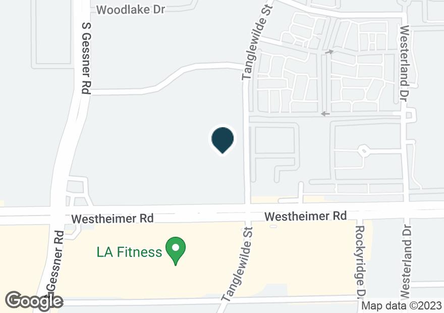 Google Map of9600 WESTHEIMER RD