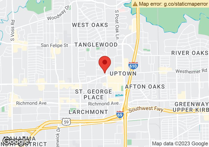 Google Map of 5200 WESTHEIMER RD