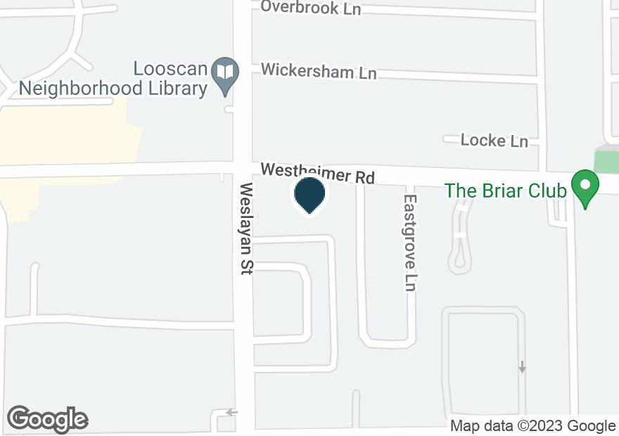 Google Map of3745 WESTHEIMER RD