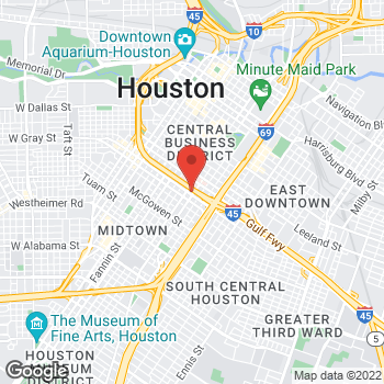 Map of Jaime Benrey, MD at 2000 Crawford, Houston, TX 77002