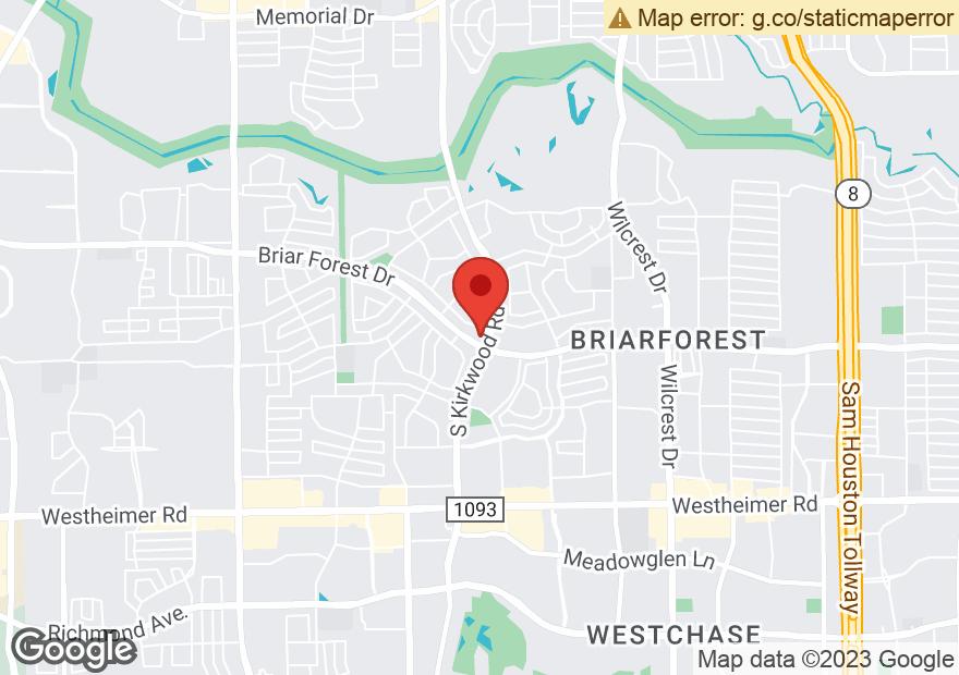 Google Map of 1838 S KIRKWOOD RD