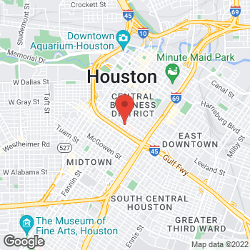 Map of Ethan Podet, MD at 1315 St. Joseph Parkway, Houston, TX 77002
