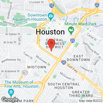 Map of Satheesha Kumar, MD at 1315 St. Joseph Parkway, Houston, TX 77002