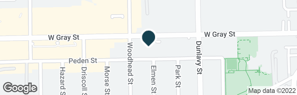 Google Map of1919 W GRAY ST