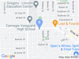 Map of Demis Dog House Dog Boarding options in Houston | Boarding
