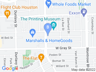 Map of Dogtopia Houston Dog Boarding options in Houston | Boarding