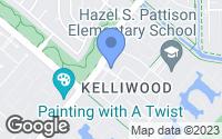 Map of Katy, TX