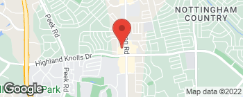 Map of 1540 S Mason Rd in Katy