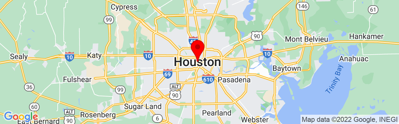 Google Map of The Detailing Syndicate - Houston TX, 1001 Texas Ave #1400, Houston, TX 77002, UNITED STATES, 29.760051944444,-95.362117222222