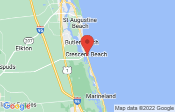 Map of Crescent Beach