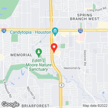Map of Ann Taylor at 12850 Memorial Drive, Houston, TX 77024