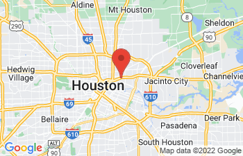 Map of Houston
