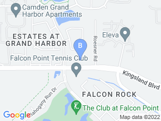 Map of Rover Oaks Pet Resort Dog Boarding options in Katy | Boarding
