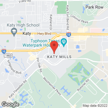 Map of 5000 Katy Mills Circle in Katy