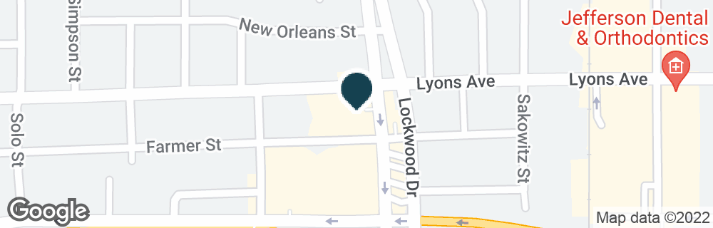 Google Map of1515 LOCKWOOD DR
