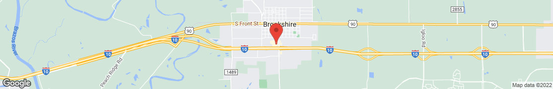 Map of 204 S Waller in Brookshire