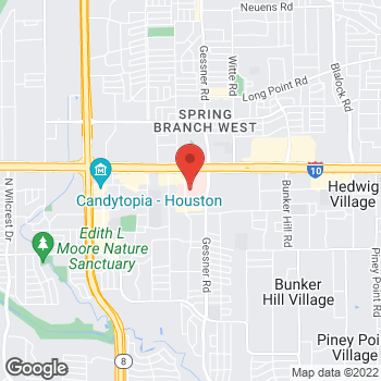 Map of Murtaza Shakir, MD at 920 Frostwood Drive, Houston, TX 77024