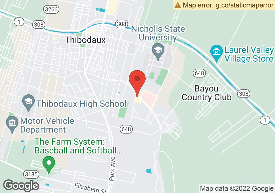 Google Map of 1000 S ACADIA RD
