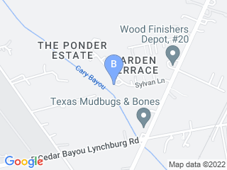 Map of 4 Heavenly Paws Dog Boarding options in Baytown | Boarding