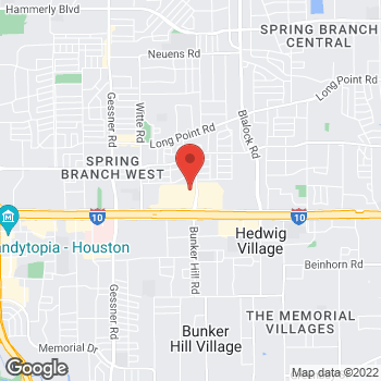 Map of RediClinic at 9710 Katy Frwy, Houston, TX 77055