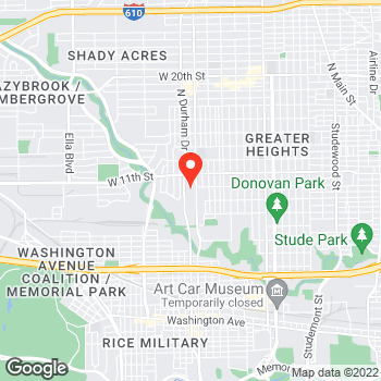 Map of Pizza in Houston, TX – Cicis Pizza at 935 N Shepherd Dr Ste 10, Houston, TX 77008