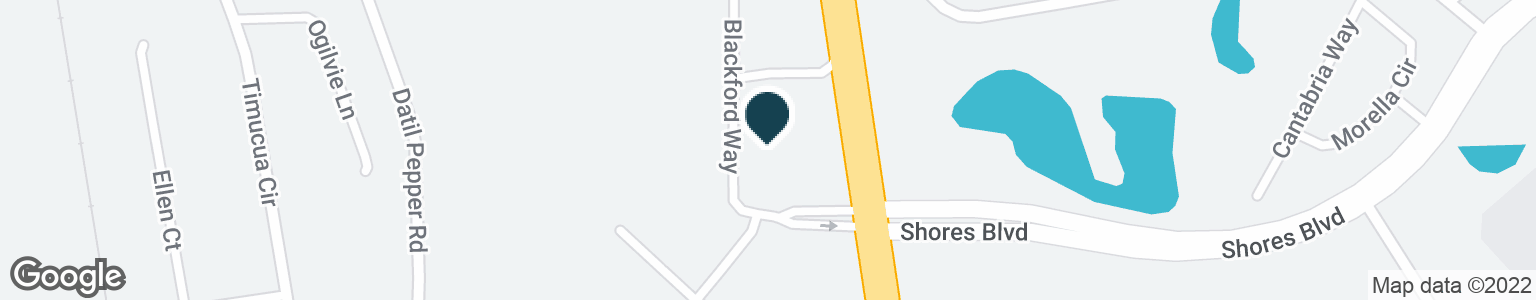 Google Map of116 BLACKFORD WAY