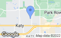 Map of Katy, TX