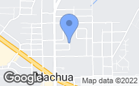 Map of Alachua, FL