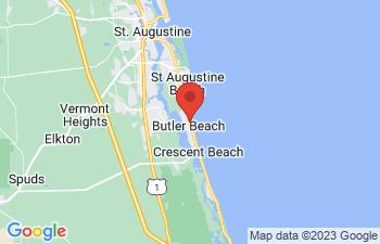Map of Butler Beach