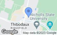 Map of Thibodaux, LA