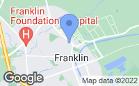 Map of Franklin, LA
