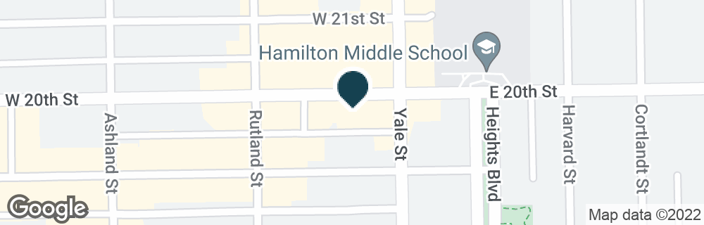 Google Map of200 W 20TH ST