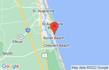 Map of St. Augustine