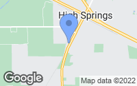 Map of High Springs, FL