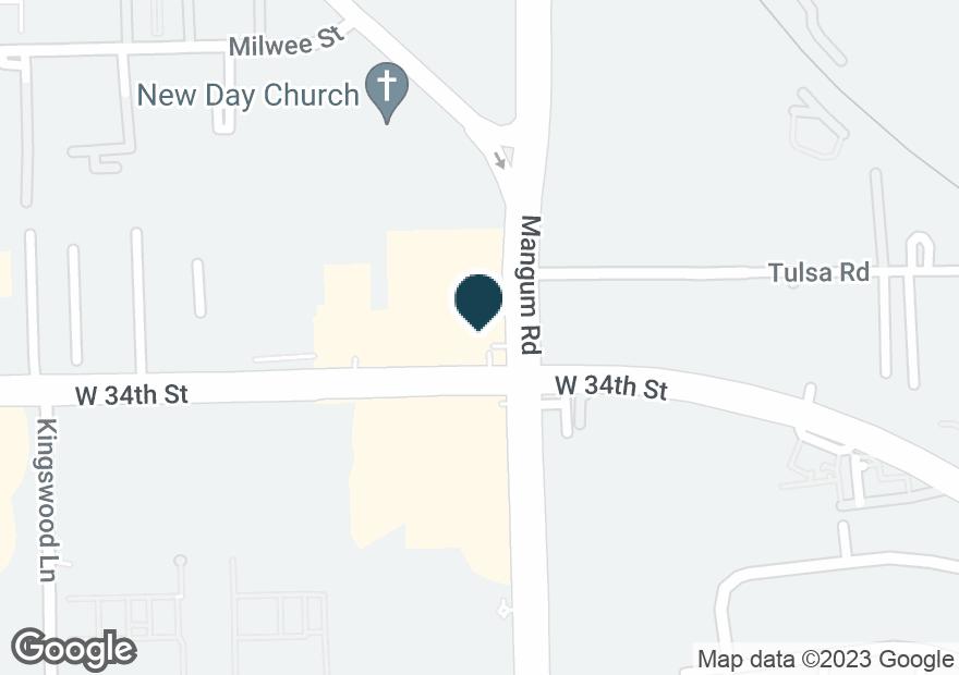 Google Map of3403 MANGUM RD