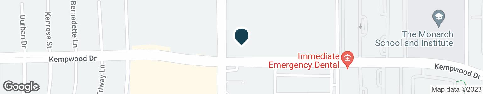 Google Map of2808 GESSNER RD